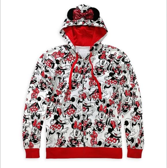 Minnie Mouse Zip-Up Hoodie